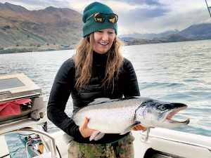 12kg brown trout caught in Wanaka