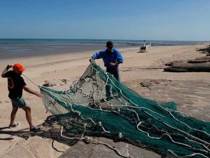 Ghost fishing gear found in Gulf of Carpentaria