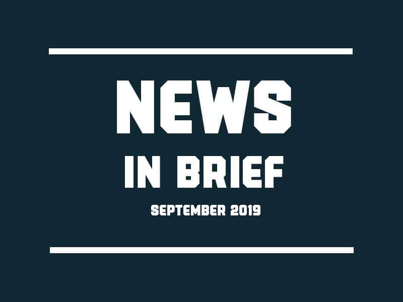 News in Brief 2019