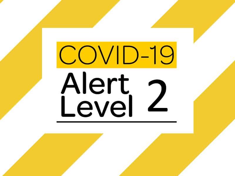 COVID-19 Alert Level 2