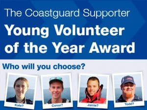 Coastguard Young Volunteer of the Year 2020