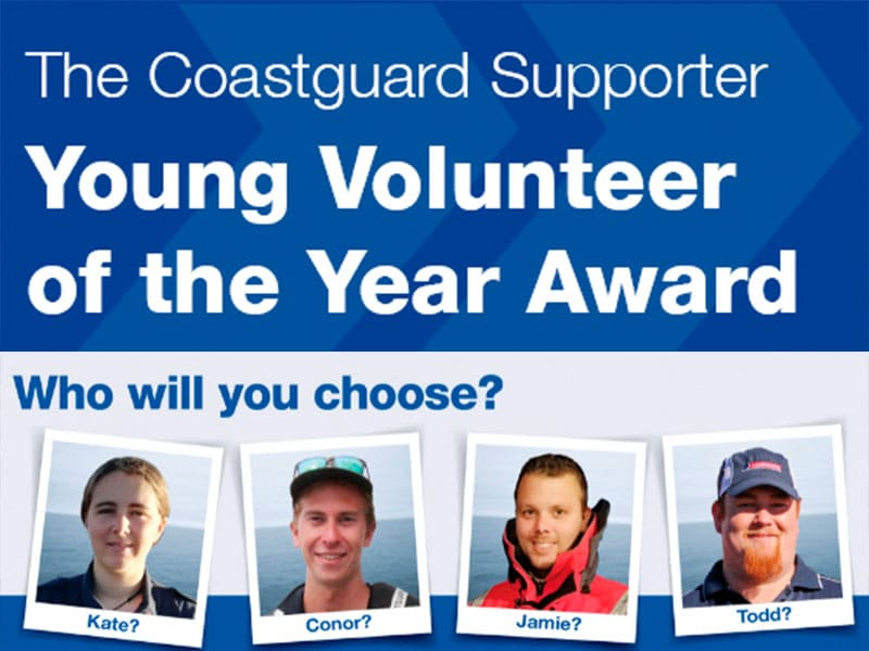 Coastguard Young Volunteer of the Year 2020