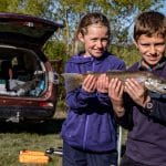 Trout and salmon season opens